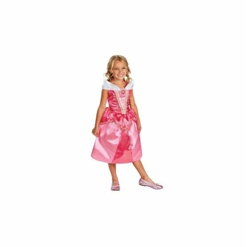 Disney Aurora Sparkle Classic Costume (7 - 8) Perspective: front