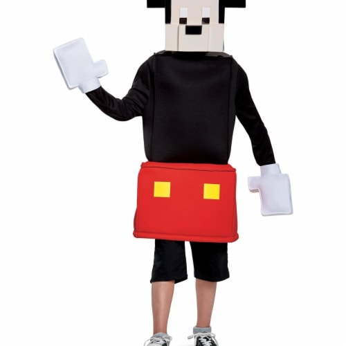 Disguise 249062 Mickey Mouse Crossy Roads Classic Costume - Red, Small Perspective: front