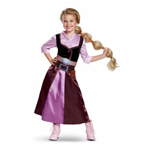 Disguise Rapunzel Season 2 Classic Child Costume, Purple, (Size Medium 7-8) Perspective: front
