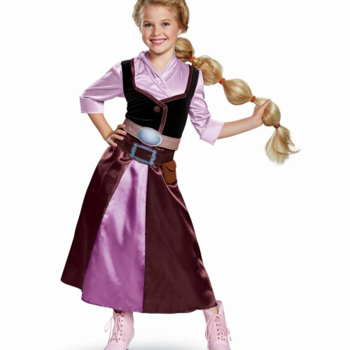Disguise 275906 Halloween Tangled The Series Season 2 Rapunzel Classic Travel Outfit Toddler Perspective: front