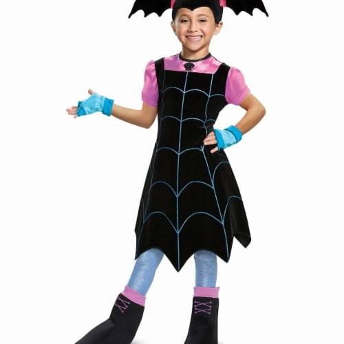Disguise 283643 Halloween Vampirina Deluxe Child Costume - Small Perspective: front
