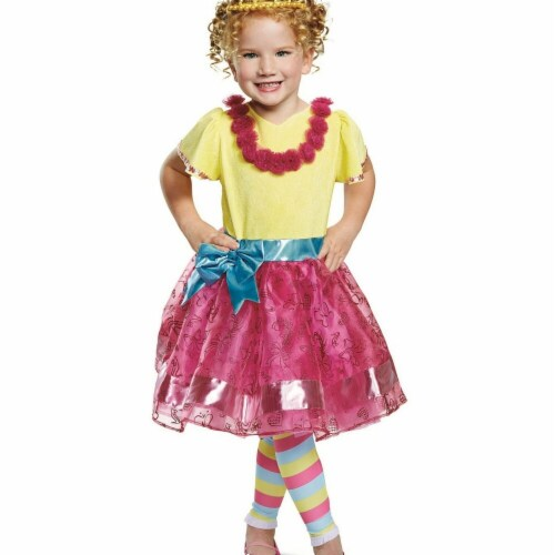 Disguise 275975 Halloween Fancy Nancy Nancy Deluxe Toddler Costume - 3T-4T Perspective: front