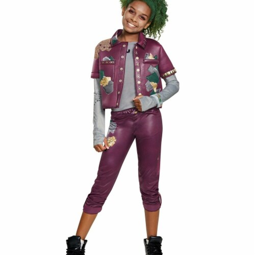 Disguise 276222 Halloween Z-O-M-B-I-E-S Eliza Zombie Classic Child Costume - Large Perspective: front