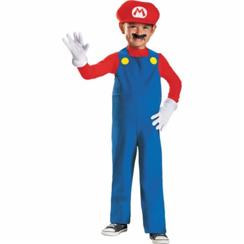 Disguise DG73682S Mario Toddler Costume Perspective: front