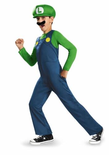 Luigi Classic Costume (10 - 12) Perspective: front