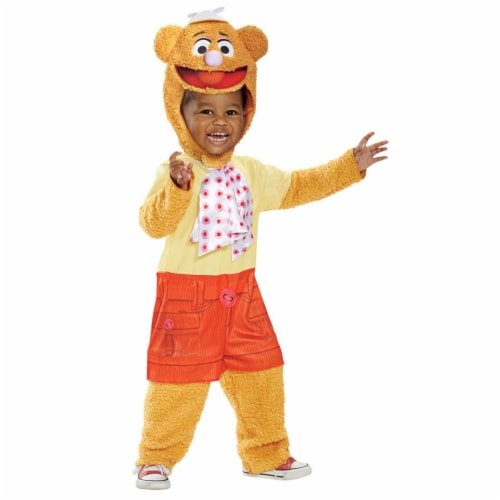 Morris Costumes DG79466W Fozzie Toddler Costume, 12-18 Months Perspective: front