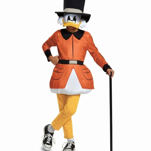 Disguise 275968 Halloween Ducktales Scrooge McDuck Classic Child Costume - Small Perspective: front