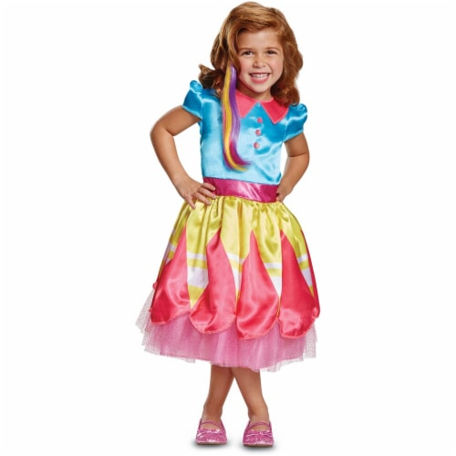 Disguise Sunny Classic Toddler Child Costume, (Size Medium 3T-4T) Perspective: front