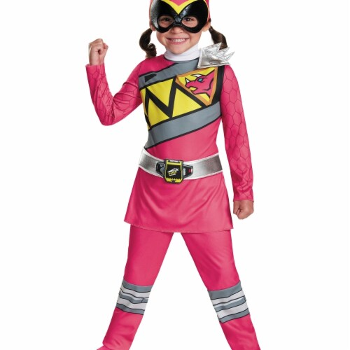 Disguise DG82737M Pink Ranger Dino Classic, 3T-4T Perspective: front