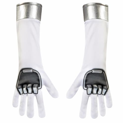 Disguise DG82792 Child Power Ranger Dino Gloves, One Size Perspective: front