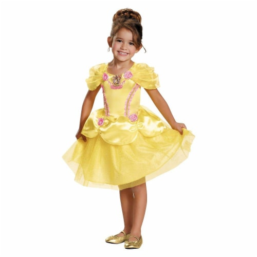 Belle Toddler Classic Costume M (3T-4T) Perspective: front
