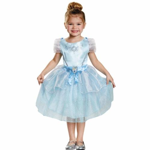Disney Cinderella Toddler Classic Costume (4 - 6) Perspective: front