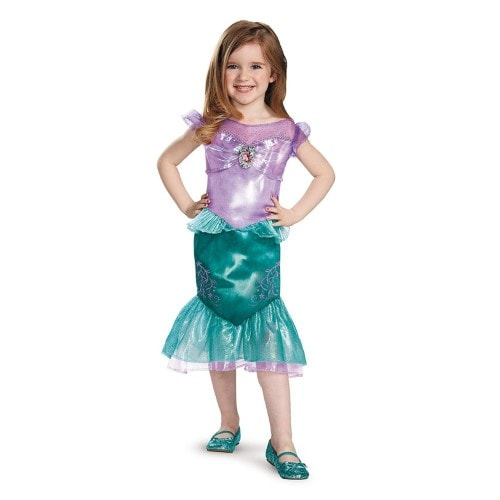 Ariel Toddler Classic Costume L (4-6x) Perspective: front