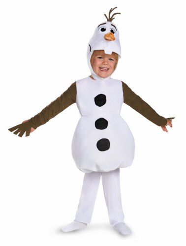 Disney Olaf Toddler Classic Costume (4 - 6) Perspective: front