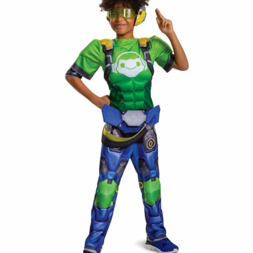 Disguise 403193 Child Lucio Classic Muscle Costume, Medium 7-8 Perspective: front