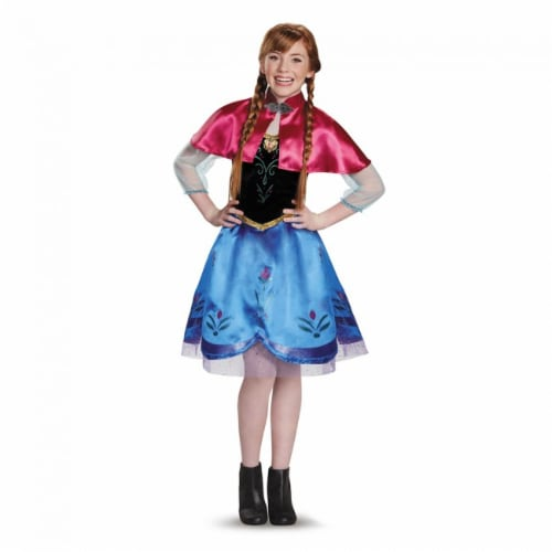 Anna Traveling Tween Costume (10-12) Perspective: front