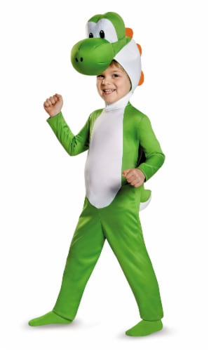 Yoshi Toddler Costume M (3T-4T) Perspective: front
