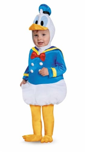 Disguise Baby Boys' Donald Duck Prestige Infant Costume, Blue, 12-18 Months Perspective: front