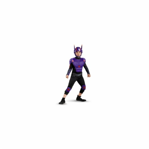 Disguise 243822 Big Hero 6-Hiro Deluxe Child Costume, Black - Small Perspective: front