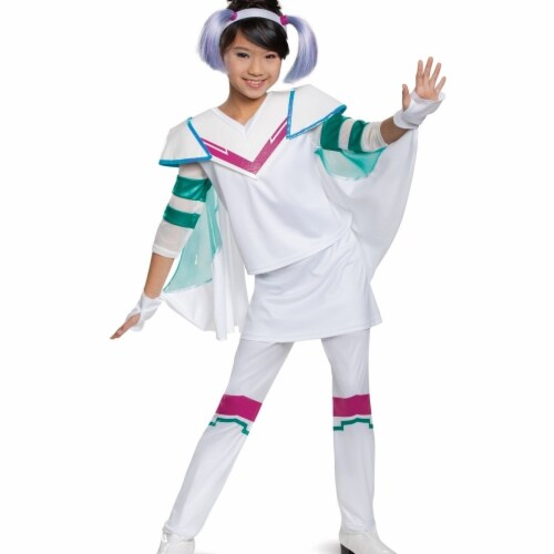 Disguise 403235 Lego Movie 2 Sweet Mayhem Deluxe Toddler Costume for Girls - Size 3T-4T Perspective: front
