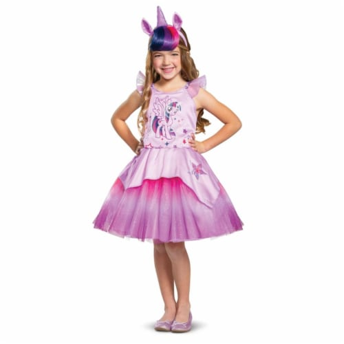 Disguise 403033 Girls Twilight Sparkle Tutu Deluxe Toddler Costume, Large Perspective: front