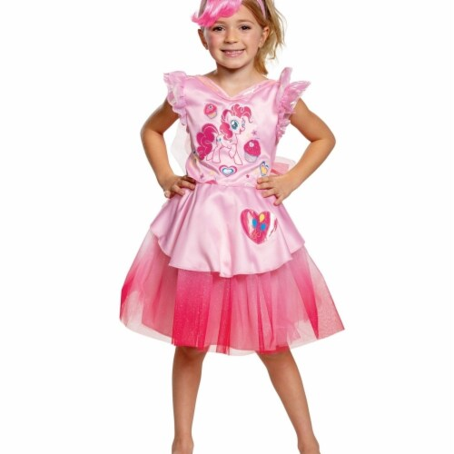 Disguise 403036 Pinkie Pie Tutu Deluxe Toddler Costume for Girls - Size 3T-4T Perspective: front