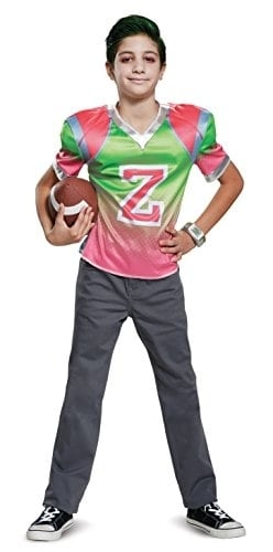 Disguise Zed Football Jersey Child Costume, Multi Color, Size/(4-6) Perspective: front