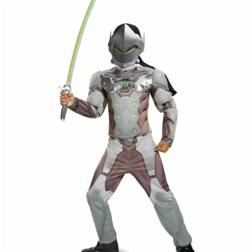 Disguise 276110 Halloween Overwatch Genji Classic Muscle Child Costume - Small Perspective: front