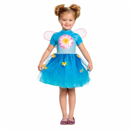 Morris Costumes DG89881M Abby New Look Classic Toddler Dress, Size 3-4T Perspective: front