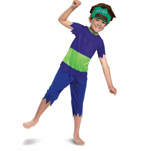 Disguise 403334 Super Monsters Frankie Mash Classic Toddler Costume for Boys - Large Perspective: front
