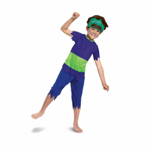 Disguise 403333 Super Monsters Frankie Mash Classic Child Costume for Boys - Small Perspective: front