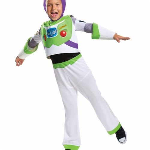 Disguise 403357 Toy Story 4 Buzz Lightyear Classic Child Costume for Boys - Medium Perspective: front