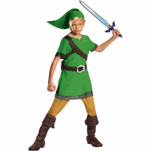 Disguise DG85718L The Legend of Zelda Childs Link Costume - Large Perspective: front