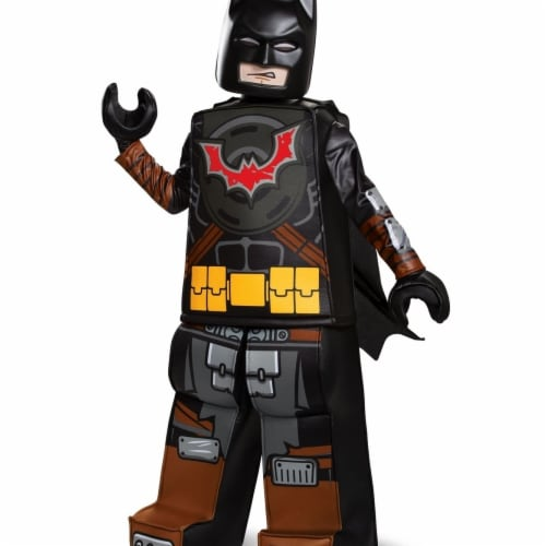 Disguise 403237 Child Lego Movie 2 Batman Prestige Costume for Boys, Medium 7-8 Perspective: front