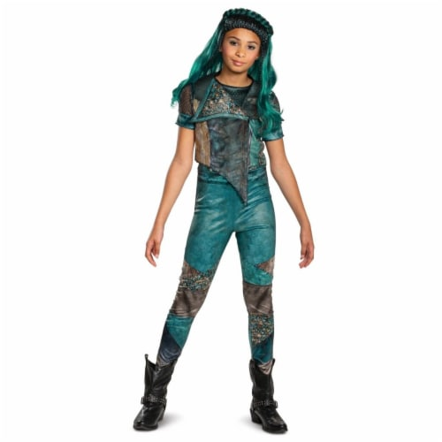 Disguise 403097 Girls Descendants 3 Uma Classic Child Costume, Small 4-6X Perspective: front