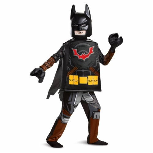 Disguise 403221 Lego Movie 2 Batman Deluxe Child Costume - Large Perspective: front