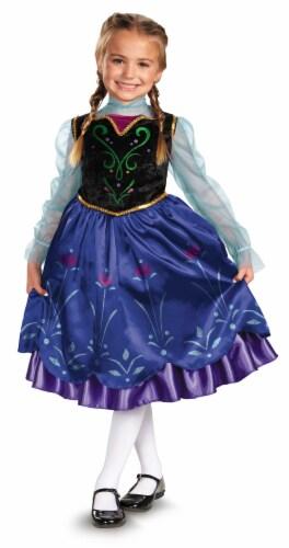 Disney Frozen Anna Girls Halloween Costume (Size 7-8) Perspective: front