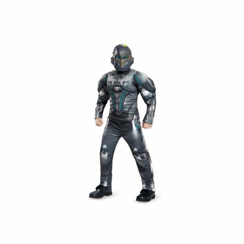 Disguise 245156 Halo Spartan Locke Classic Muscle Child Costume - Small Perspective: front