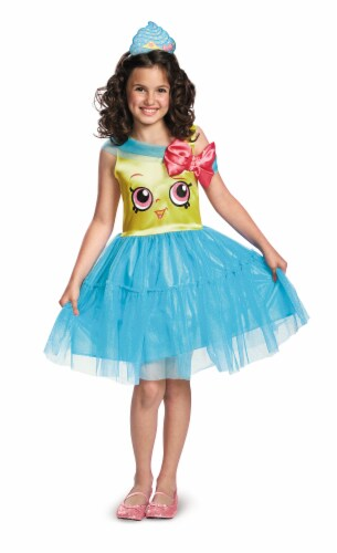 Cupcake Queen Classic Costume S (4-6x) Perspective: front
