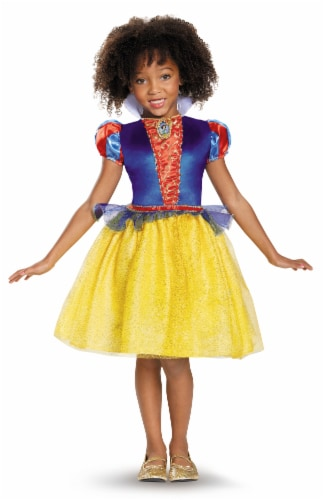 Snow White Classic Costume XS (3T-4T) Perspective: front