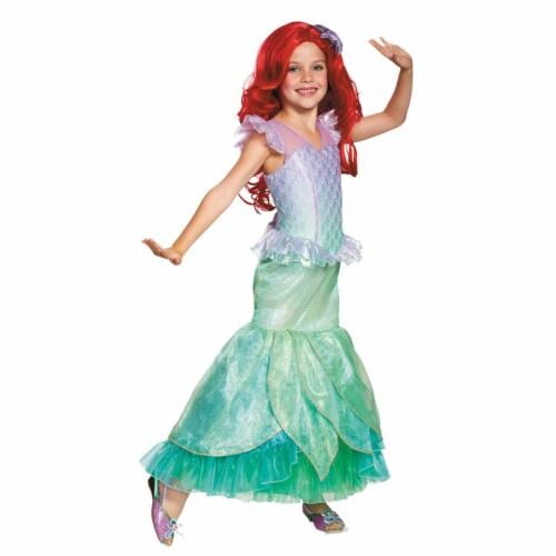 Morris Costumes DG98524M Child Ariel Ultra Prestige Costume - Size 3T-4T Perspective: front