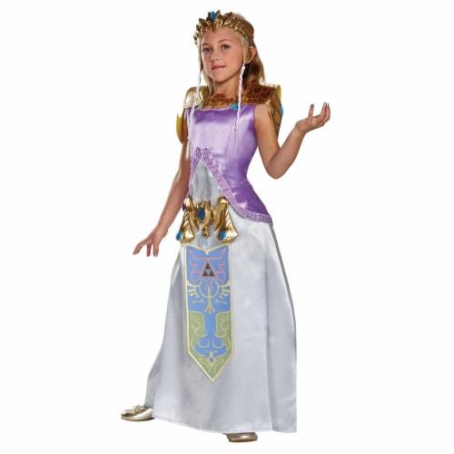 Morris Costumes DG98784J Zelda Deluxe Costume, Size 12-14 Perspective: front