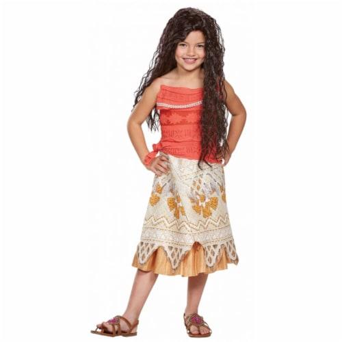 Morris Costumes DG99475L Moana Classic Child, Size 4-6 Perspective: front
