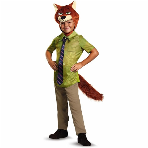 Nick Wilde Classic Costume M (7-8) Perspective: front