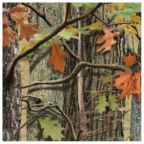 Creative Converting 655676 Hunting Camo - Beverage Napkins - Case of 216 Perspective: front