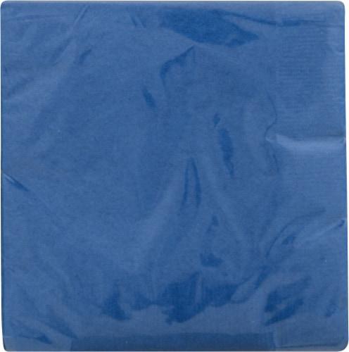 Creative Converting Beverage Napkins - Cobalt Blue Perspective: front