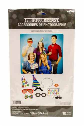 Creative Converting Birthday Cut Out Photo Props Perspective: front