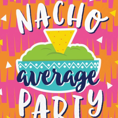 James Paul Products Fiesta Nacho Beverage Napkins Perspective: front
