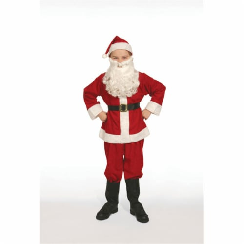 Halco 412 Economy Child Santa Suit- Size 12 Perspective: front