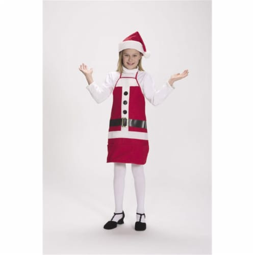 Halco 7060-C Holiday Apron & Hat- Size Child 4-12 Perspective: front